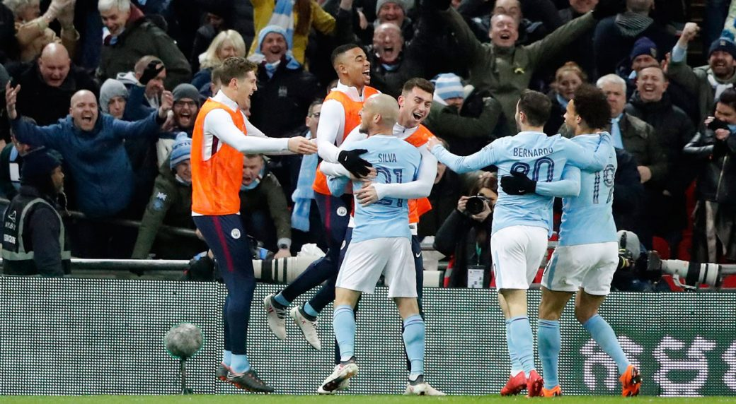 Man City eyes record books after clinching title