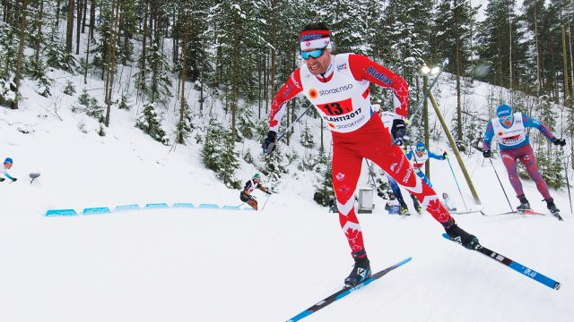 Canadian-cross-country-skier-Alex-Harvey-competing-in-the-World-Championships-in-Lahti,-Finland,-in-late-February-2017.