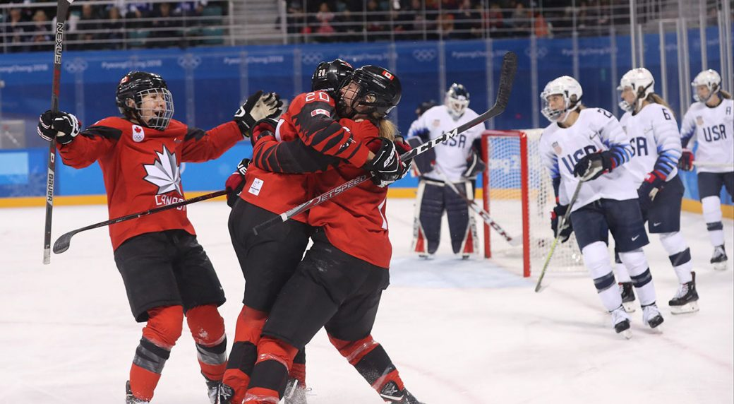 Canada Defeats U S To Remain Perfect In Olympic Women S Hockey