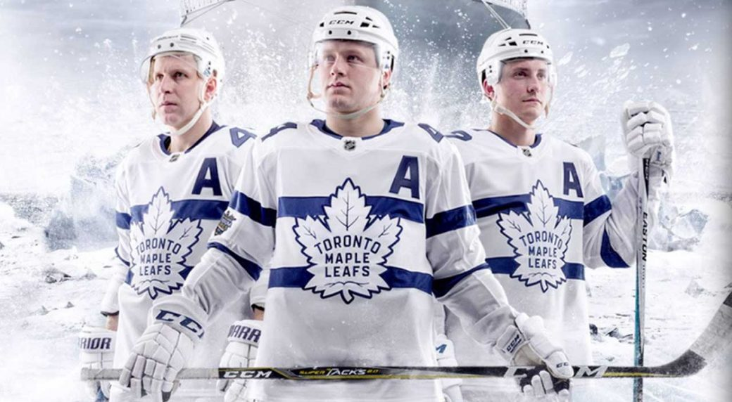 official photos 49cc4 e9b7f Maple Leafs 'surprised' by new all-white Stadium Series ...