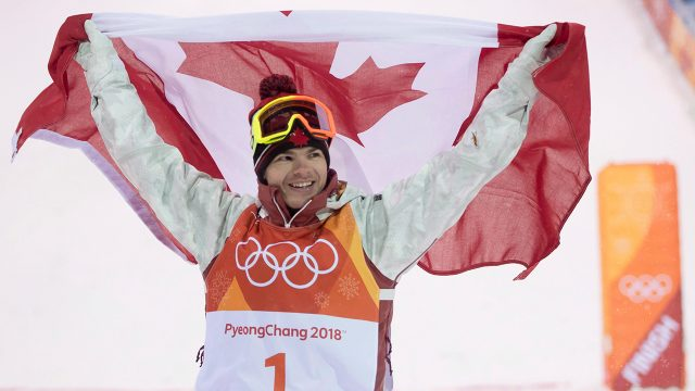 Canadian-Mikael-Kingsbury-celebrates-winning-his-gold-medal-in-the-moguls-finals-at-the-Pyeongchang-2018-Winter-Olympic-Games