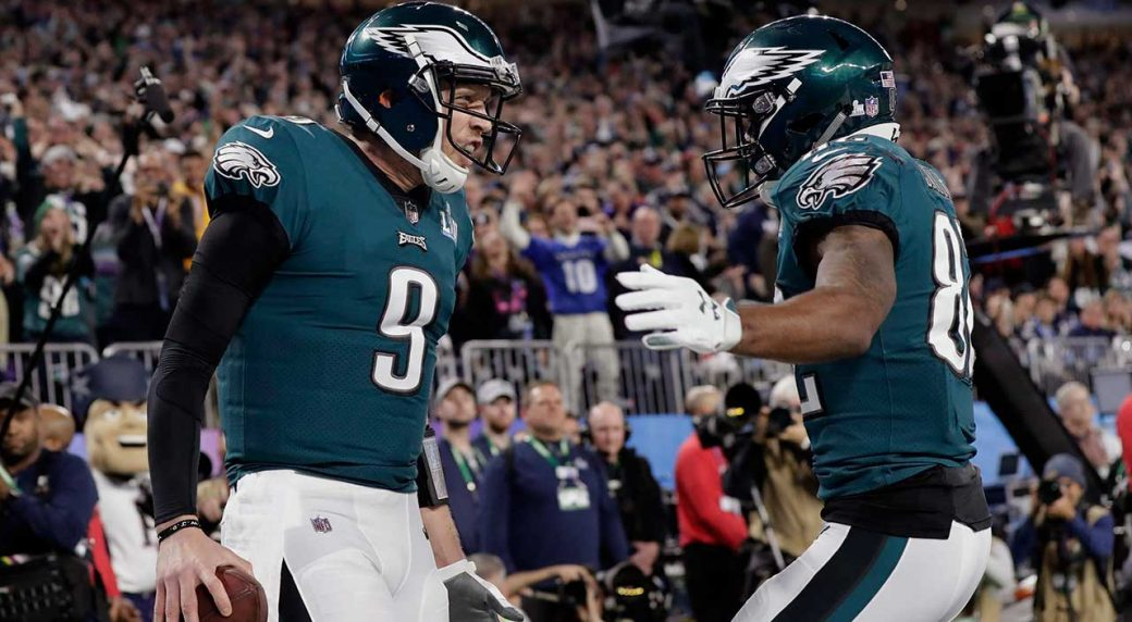 purchase cheap a7019 74e59 Nick Foles: Five potential teams for Super Bowl LII MVP ...