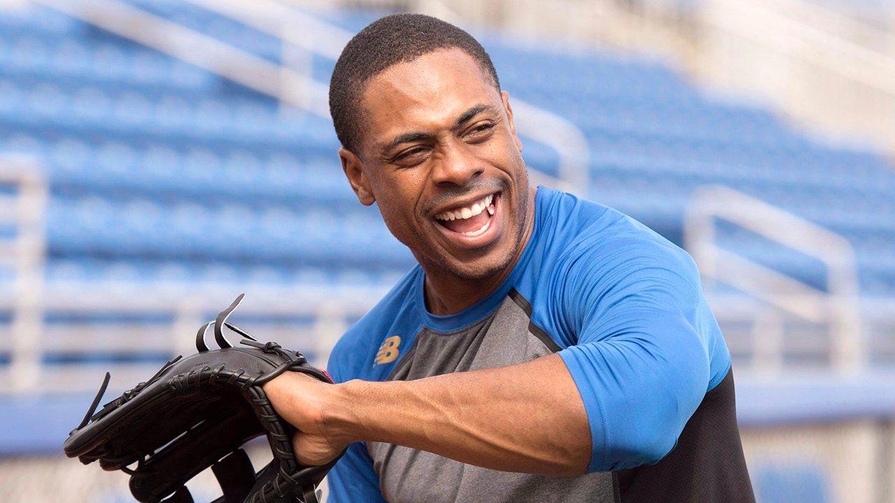 Toronto-Blue-Jays;-Curtis-Granderson