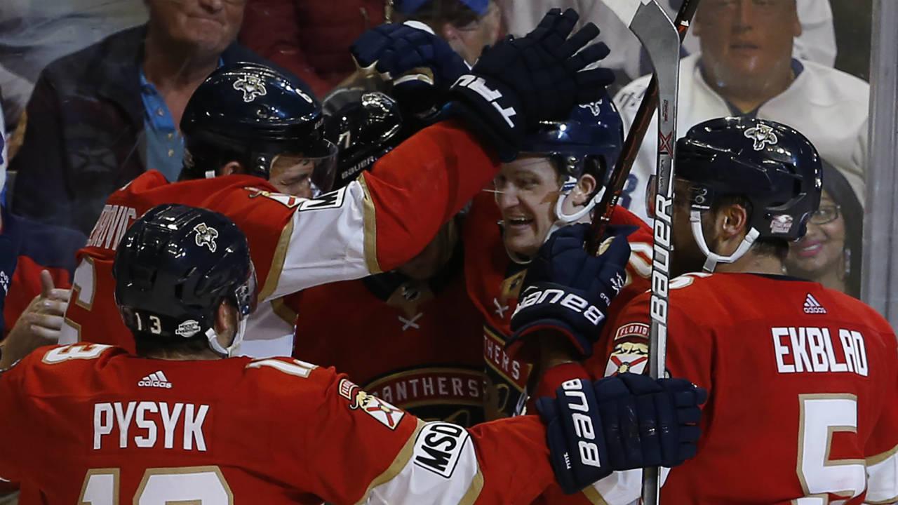 c9f39845 McCann gets OT winner, Panthers top Maple Leafs - Sportsnet.ca