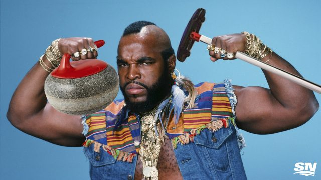 Mr.-T;-Olympics;-Curling