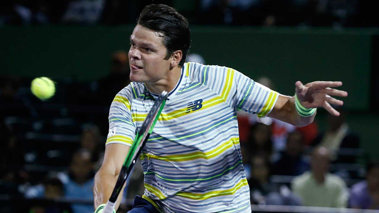 Milos Ranoic Advances At Miami Open After Beating Diego Schwartzman Sportsnet Ca