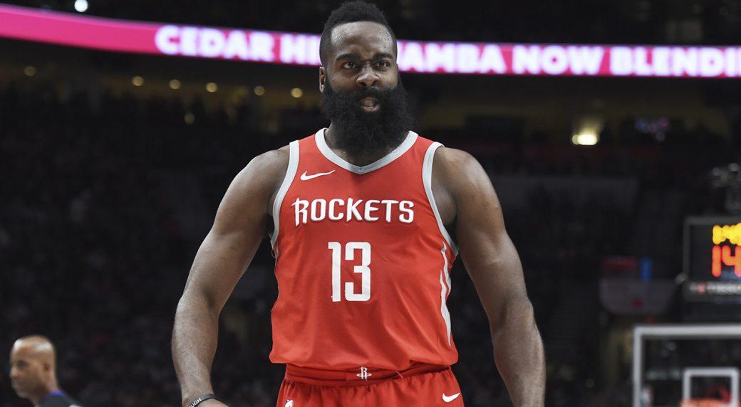 purchase cheap de83b 41b05 Rockets' James Harden wins 2017-18 NBA MVP award - Sportsnet.ca