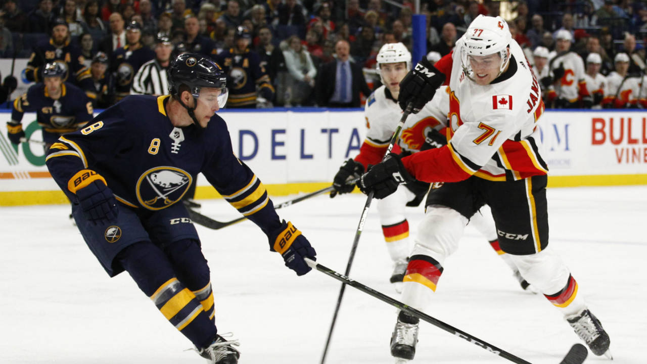 Flames Re Sign Rfa Mark Jankowski To Two Year Contract Sportsnet Ca