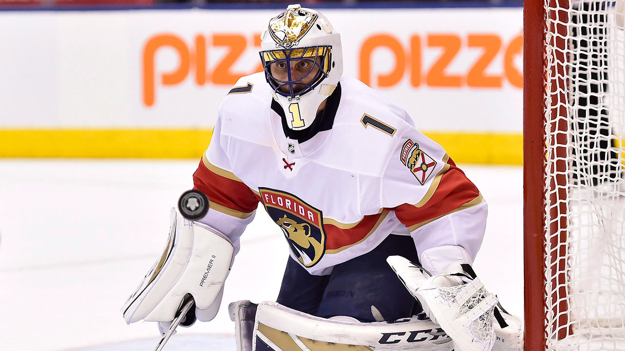 Luongo Takes Hold Of No 3 On All Time Wins List As Panthers Top