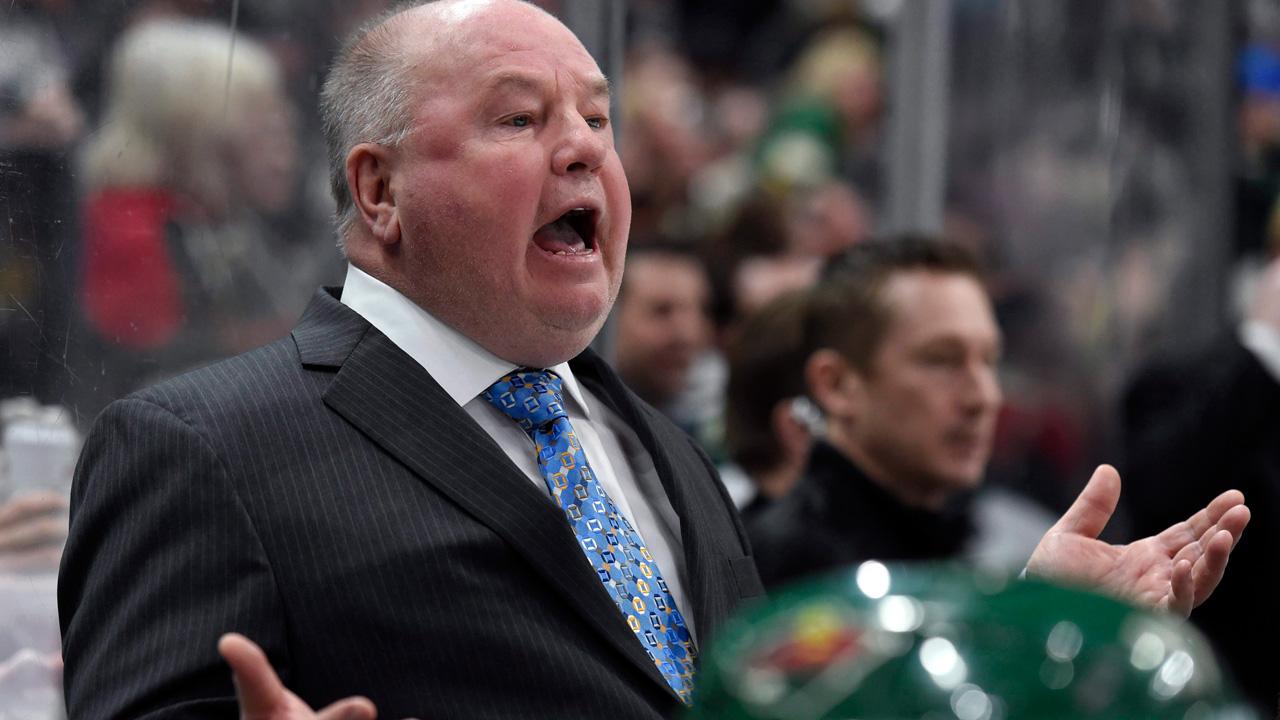 Minnesota-Wild-head-coach-Bruce-Boudreau-reacts-to-a-call-he-doesn't-like.