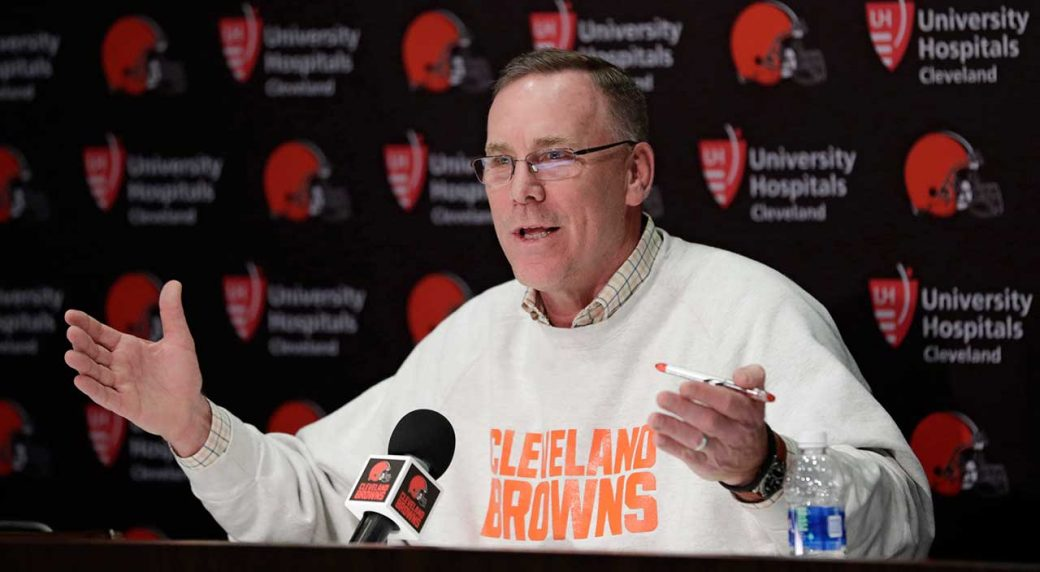 Cleveland Browns part ways with GM John Dorsey