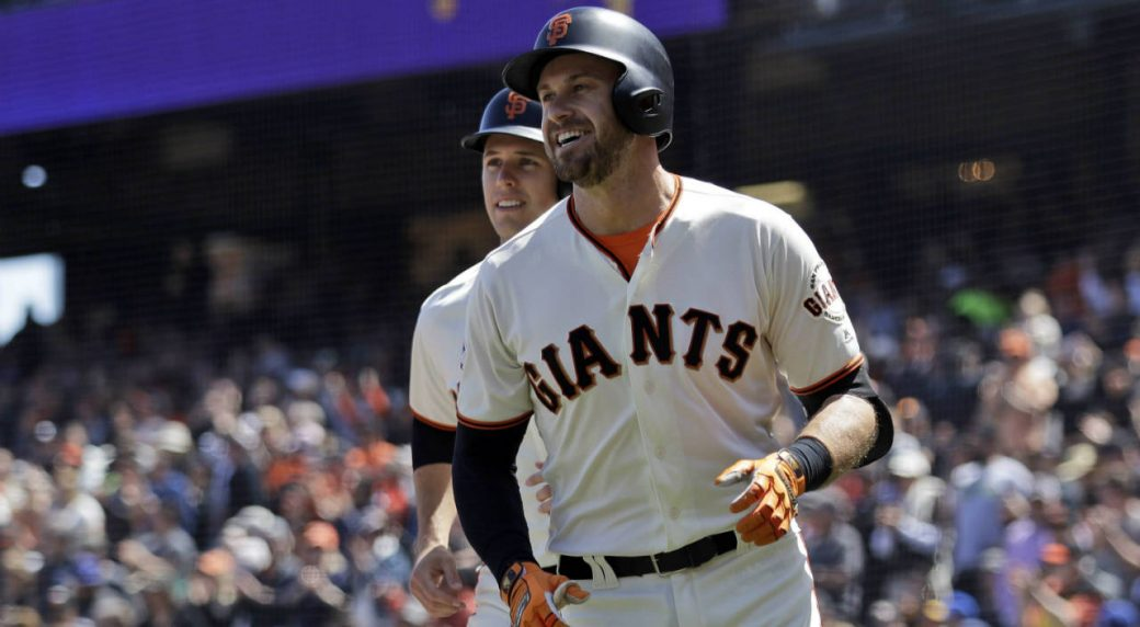 best service 9bc13 847df Giants' Evan Longoria speaks out against slow free-agent ...