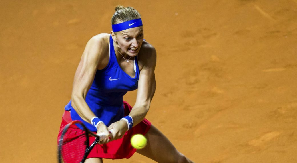 Fed Cup: Kvitova beats Kerber to send Czech Republic back to final