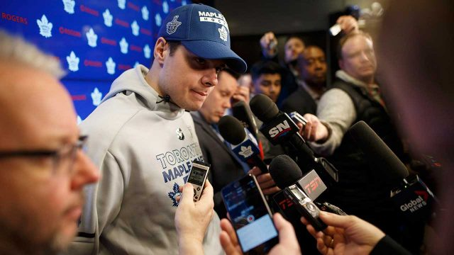 Toronto-Maple-Leafs'-Auston-Matthews