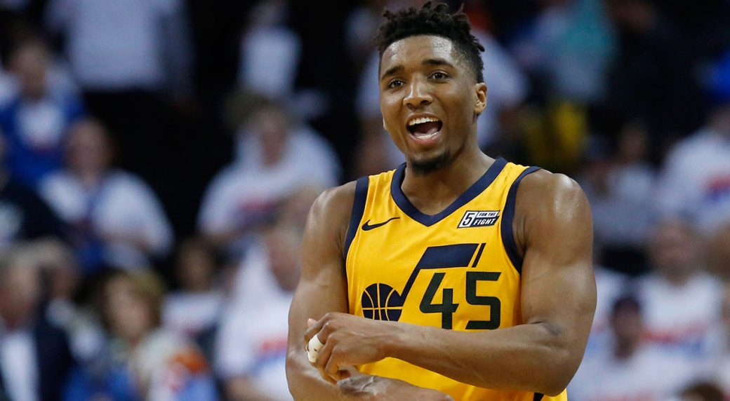 Report Donovan Mitchell Jazz agree to five-year max extension Utah Jazz guard Donovan Mitchell