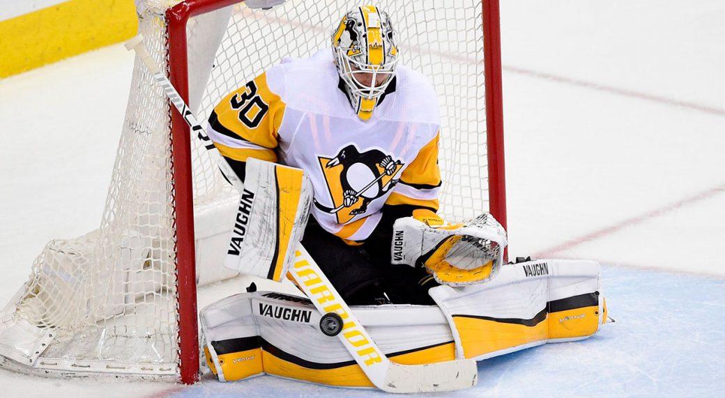 best service e2dde a8604 Penguins goaltender Matt Murray diagnosed with concussion ...
