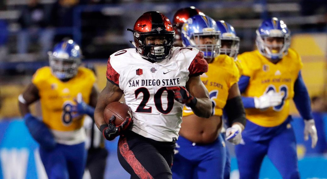 detailed look 0bc43 dd96b Seahawks select RB Rashaad Penny 27th overall - Sportsnet.ca