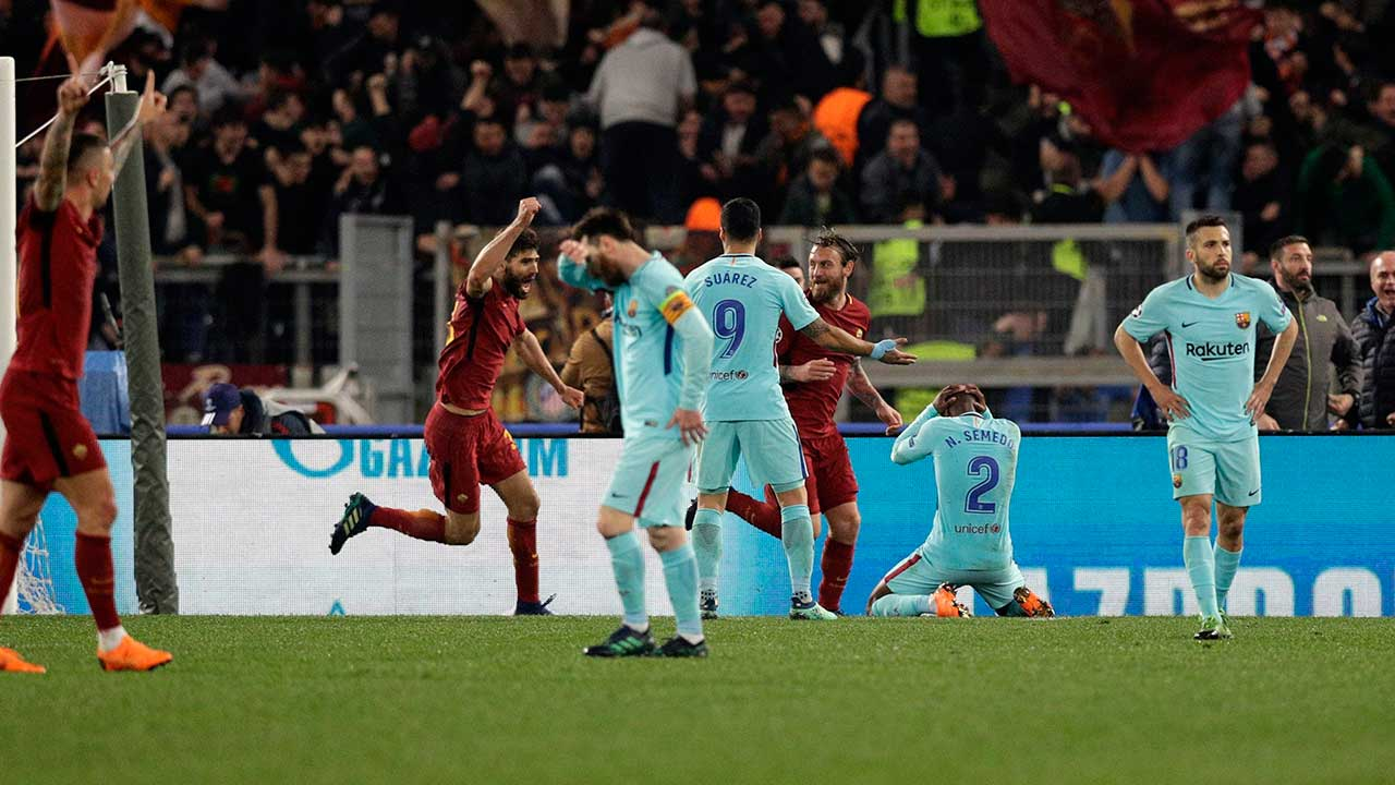 Roma Knock Barca Out Of Champions League With Stunning Comeback Sportsnet Ca