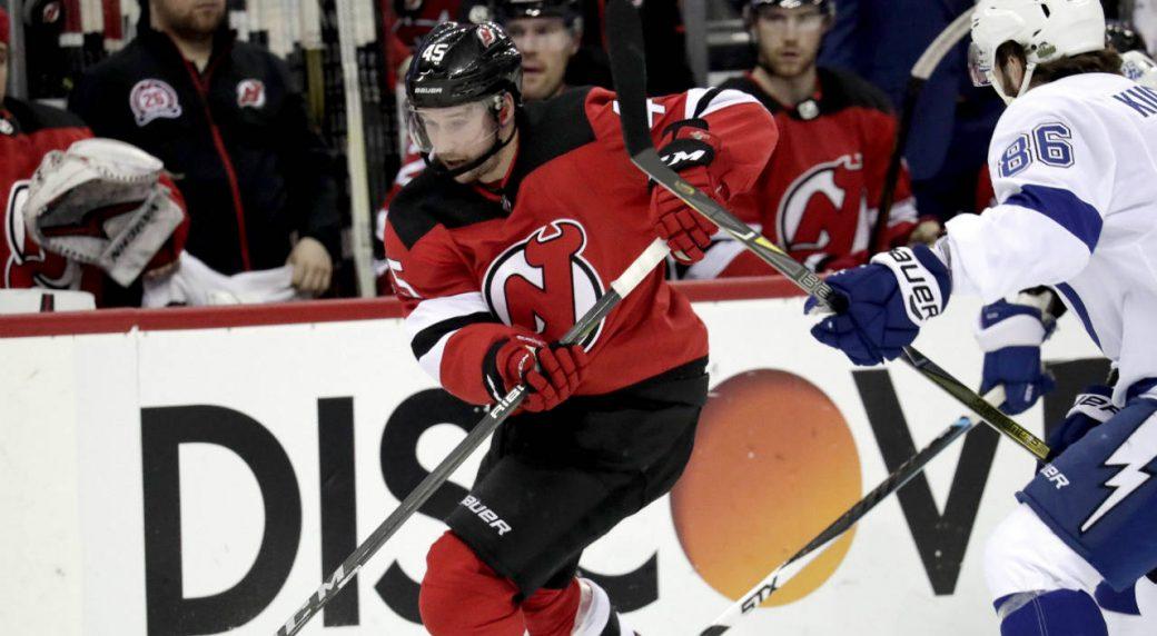 New-Jersey-Devils-defenceman-Sami-Vatanen.-(Julio-Cortez/AP)