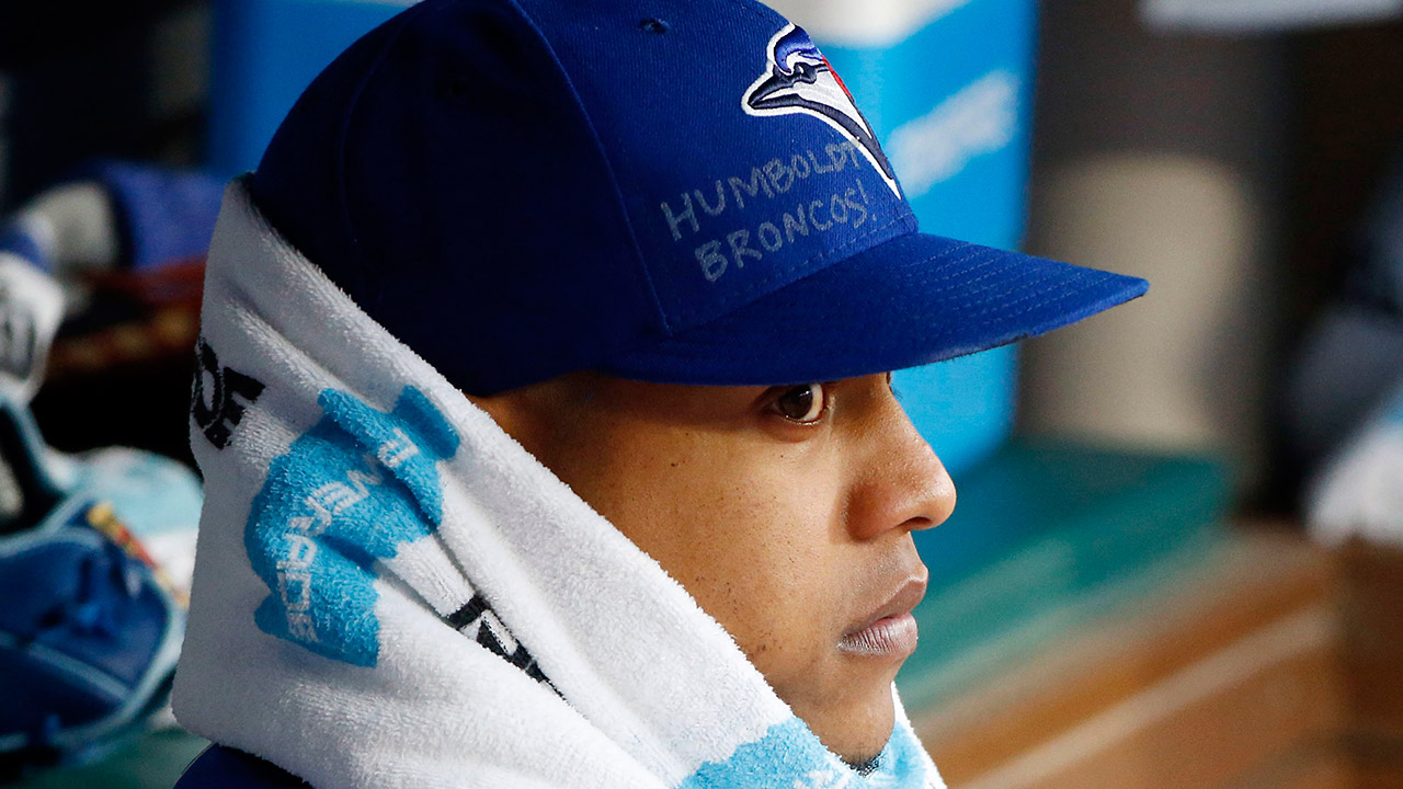 Marcus-Stroman;-Toronto-Blue-Jays;-Humboldt-Broncos