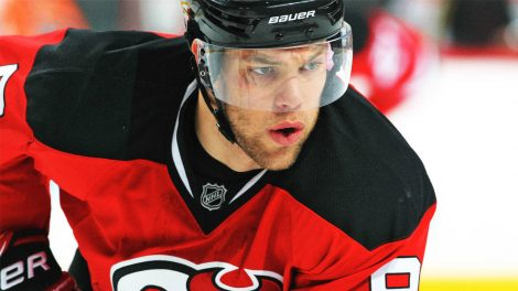 New-Jersey-Devils-star-Taylor-Hall-during-a-game-against-the-Philadelphia-Flyers.