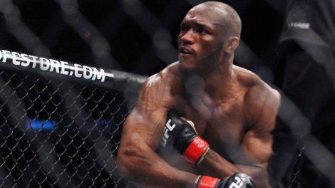 UFC-welterweight-contender-Kamaru-Usman-follows-through-on-punch.