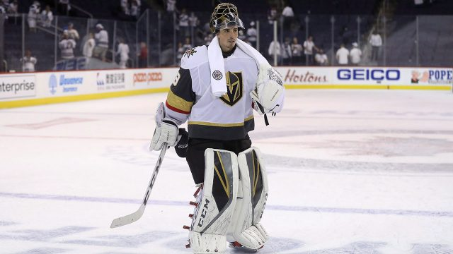 Vegas-Golden-Knights-goaltender-Marc-Andre-Fleury-(29)-skates-off-the-ice-after-defeating-the-Winnipeg-Jets-during-NHL-Western-Conference-Final.