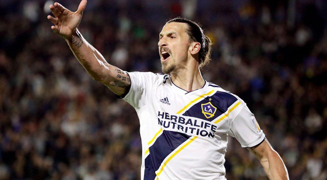 LA-Galaxy-forward-Zlatan-Ibrahimovic-celebrates-a-goal.