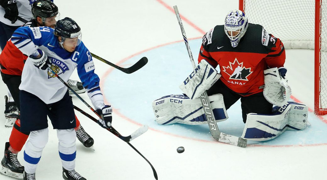 Rantanen Scores Twice As Finland Dumps Canada At Hockey Worlds