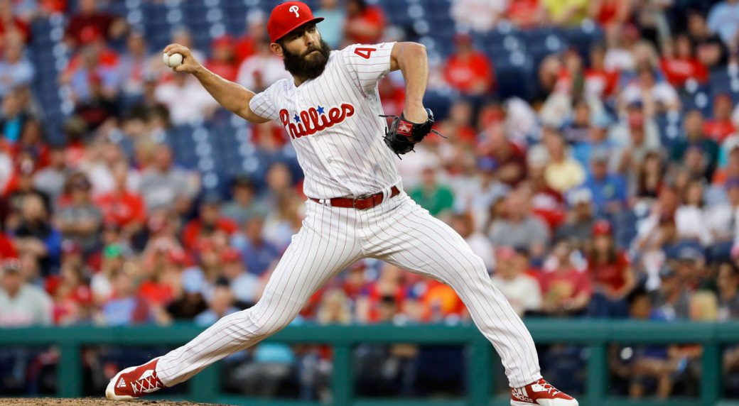 Phillies P Jake Arrieta expects to miss remainder of the season