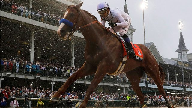 Kentucky-Derby;-Justify;-Mike-Smith