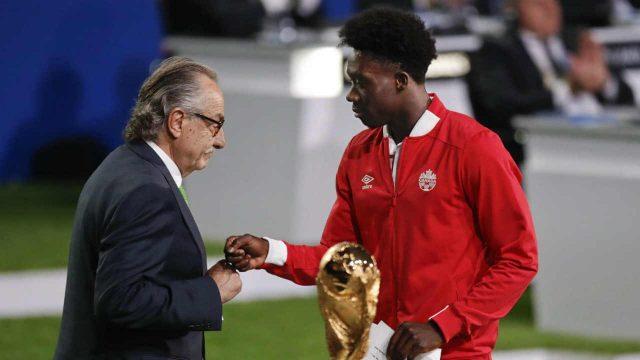 Soccer-Canada-Alphonso-Davies-World-Cup-bid