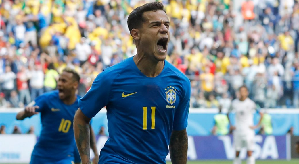 Coutinho, Xhaka top winners and losers on Day 9 at 2018