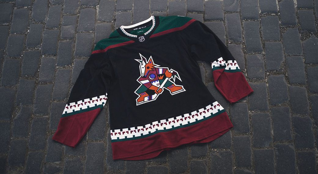 new concept 76aea 4d407 Coyotes bringing back 'Kachina' logo for team's third jersey ...