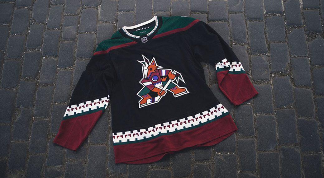 new concept cbb33 66763 Coyotes bringing back 'Kachina' logo for team's third jersey ...