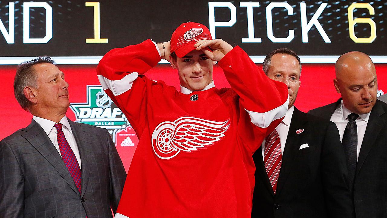 Filip-Zadina;-NHL-Draft;-Red-Wings