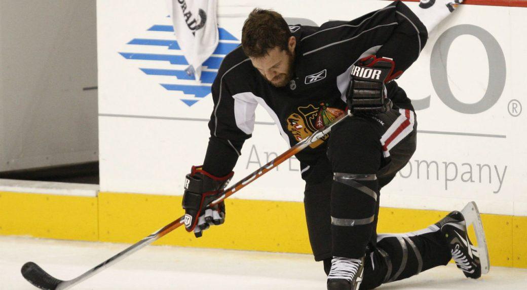Former NHLer Nick Boynton shares depression, addiction