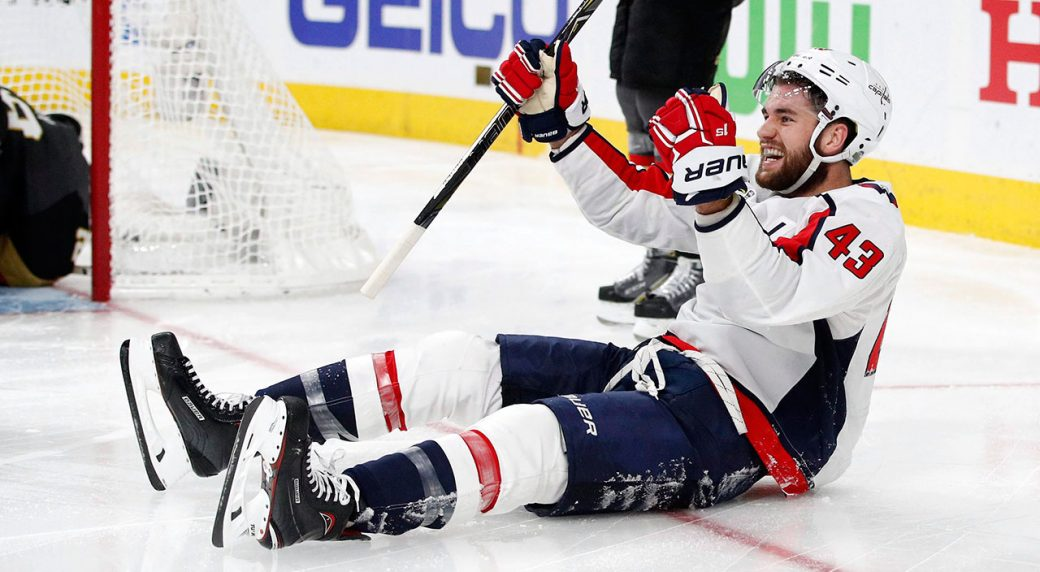 Tom-Wilson-celebrates-after-scoring-goal-in-Stanley-Cup-Final-vs-Vegas-Golden-Knights