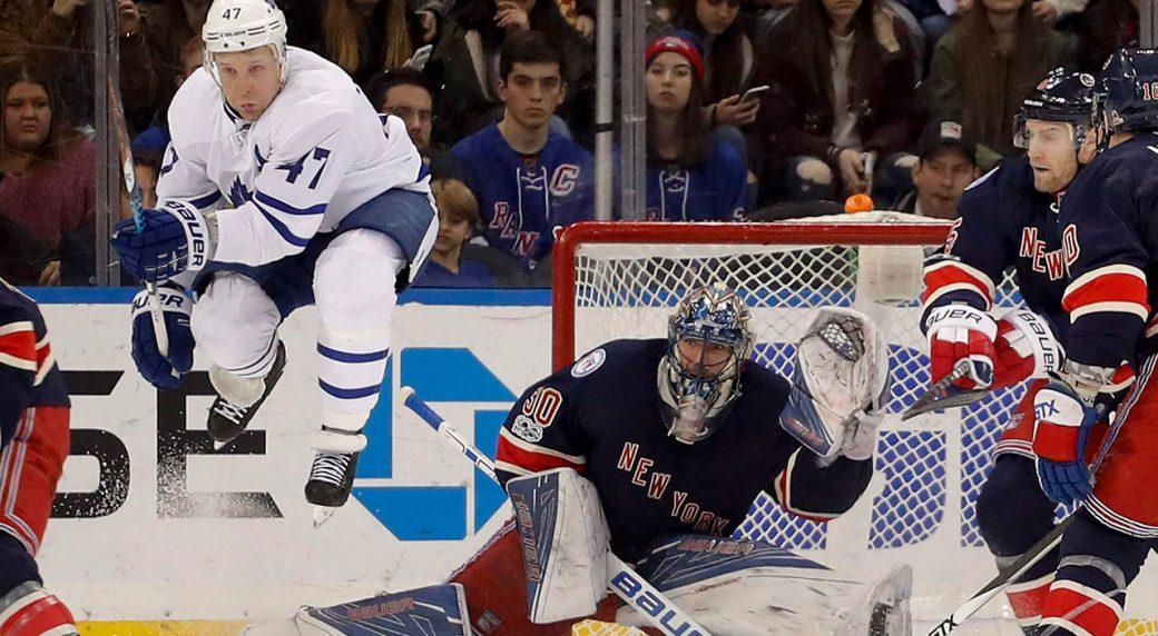 Rangers Blue Jackets Interested In Maple Leafs Free Agent Leo Komarov