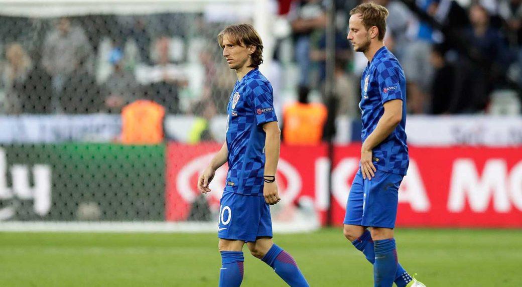 promo code a09c0 fb192 Modric, Rakitic headline Croatia's World Cup squad ...