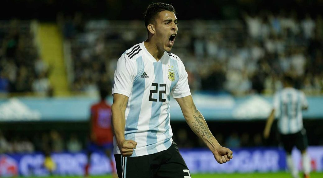 Argentina's-Cristian-Pavon
