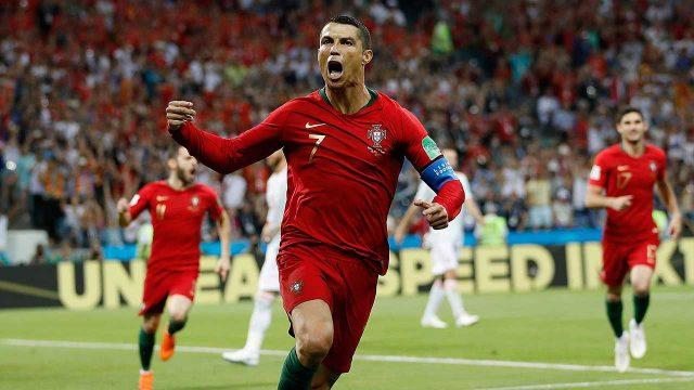 ronaldo-celebrates-scoring-against-spain-in-world-cup