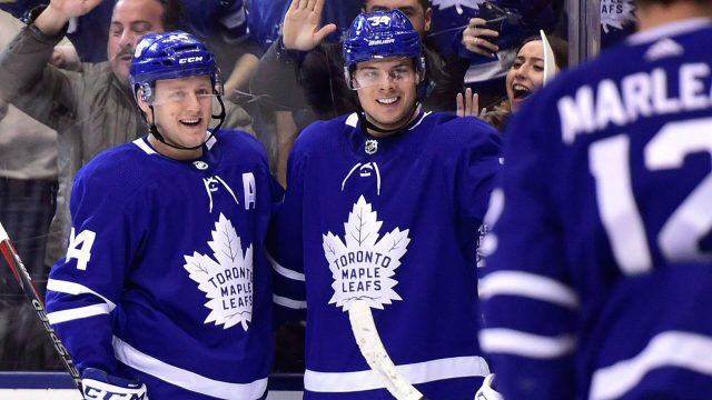 brand new f4f06 c7e80 Quick Shifts: Maple Leafs' Tavares can help make Marner rich ...