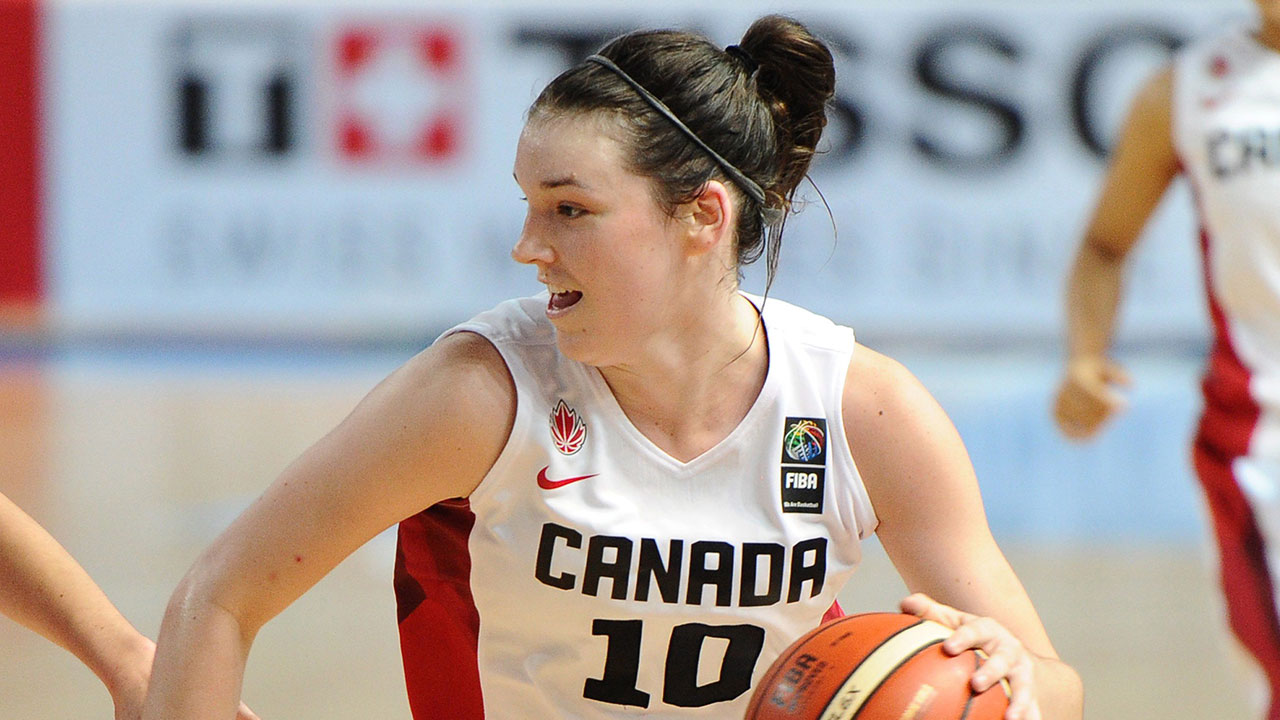 Canada downs Mexico in women's basketball AmeriCup opener