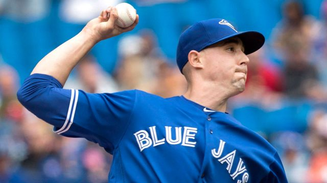 MLB-Aaron-Sanchez-throws-against-Orioles