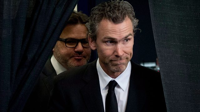 Trevor-Linden-arrives-with-Vancouver-Canucks-owner-Francesco-Aquilini-for-press-conference