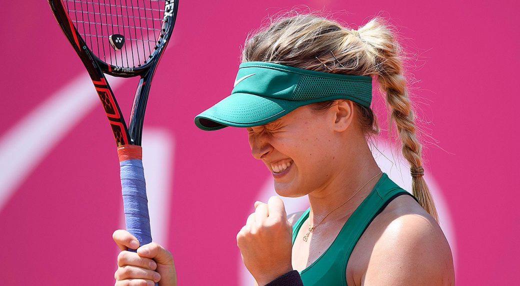 WTA-Eugenie-Bouchard-celebrates-win-at-Swiss-Open