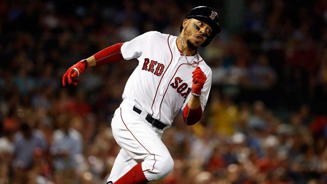 boston-red-soxs-mookie-betts-runs-out-a-double-against-texas-rangers
