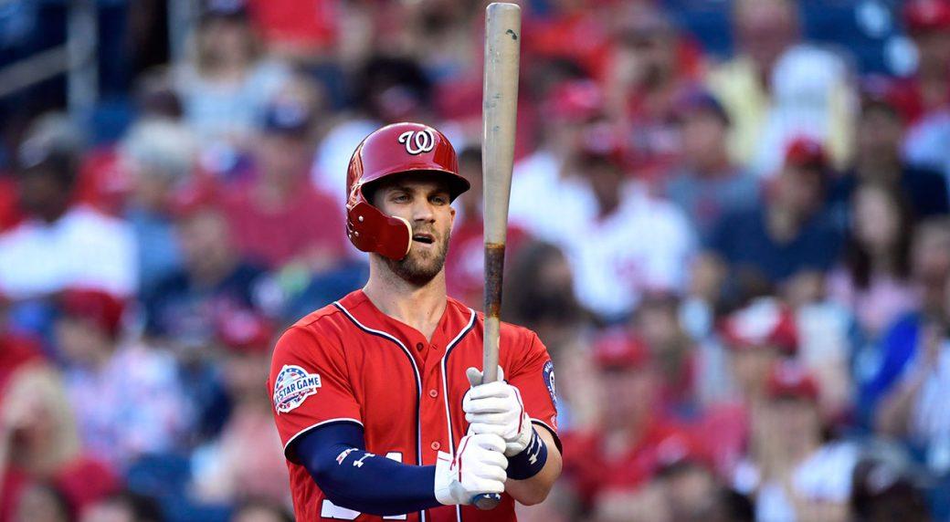 bryce_harper_looks_at_his_bat