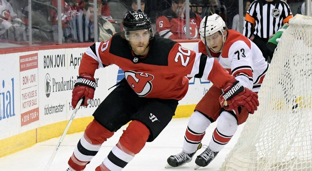 best website d870b dbc1c Devils agree to three-year contract with Blake Coleman ...